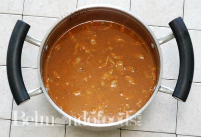 Arroz con salchicha Prep3